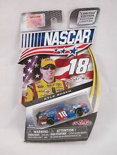 2013 NASCAR AUTHENTICS LIMITED EDITION CAR #18 KYLE BUSCH M&M CAR SPIN MASTER 3+