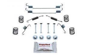 for SMART FORTWO 2004-2021 REAR L & R Drum Brake Shoe Fitting Kit (SH0889)