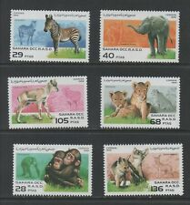Thematic Stamps Animals - SAHARA 1996 WILD ANIMALS 6v mint