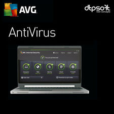 AVG AntiVirus 2020 - 3 PC's - 2 YEARS - 2020 US