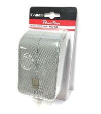 Genuine CANON PowerShot PSC-500 Deluxe Soft Camera Case Lens NEW!!
