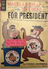 MAGILLA GORILLA VS. YOGI BEAR FOR PRESIDENT #3, 1964 GOLD KEY COMIC
