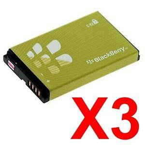 LOT OF 3  OEM BLACKBERRY CX2 BATTERIES FOR 8000 8810 8820 8830 8850i 8350 8850