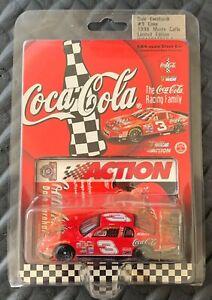 Action Collectibles 1998 Dale Earnhardt #3 Coke NASCAR 1:64 Die Cast - New!!