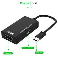 Micro USB à HDMI 1080P MHL adaptateur convertisseur fil pour téléphone Android.