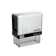 Cosco 2000 Plus Printer 30 - Custom 4 Line self ink Rubber stamp - P30