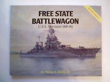 U. S. S. Maryland BB-96 ,Warship Series 4 ,Free State Battlewagon: , !!!