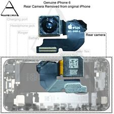 """Iphone 6 4.7"""" Cámara Trasera - Trasera Recambio Flexible - 100% Original"""