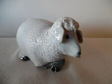 Hand Crafted Cromwell Pottery Sheep Artist Signed Clarice Falconer