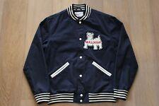 Supreme Bulldogs Varsity Jacket SS12 Navy Blue Size Large Arc Logo Tee Cap Lot