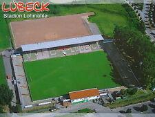 Stadionpostkarte Stadion Lohmühle VfB Lübeck # Lü 4389