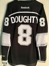 Reebok Premier NHL Jersey Los Angeles Kings Drew Doughty Black sz M