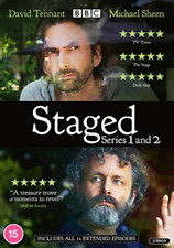 Staged Season 1 2 Series One Two First Second (david Tennant Michael Sheen) DVD
