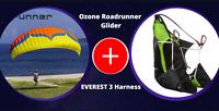 Ozone  Roadrunner Glider + ⭐ Everest 3 best ⭐ combo for easy & fun paragliding
