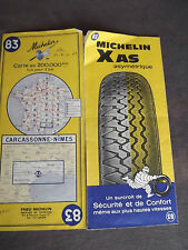 carte michelin 83 carcassonne nimes 1967
