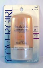 CoverGirl Fresh Look Cream Foundation Makeup - Tawny 365  New Sealed