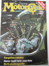 The Classic Motorcycle Magazine April 1983 Forgotten camera Home-built twin Velo