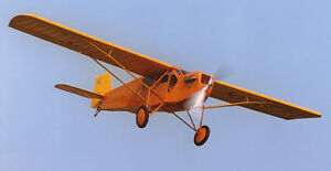 1/12 Scale Curtiss Robin Plans and Templates 41ws