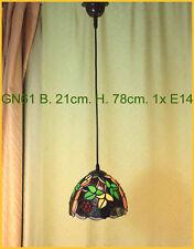 Tiffany Decken Lampe Deckenlampe Hängelampe Tiffanylampe GN61