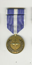 N.A.T.O.  KOSOVO  Medal & Bar