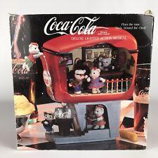 Coca Cola Soda Shoppe Hop Deluxe Lighted Action Musical Rock Around the Clock