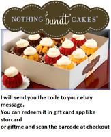 $50 Nothing Bundt Cakes Gift Card - 28% OFF (read description pls)