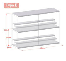 Multi-layer stackable toy storage display box, type D