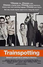 "Trainspotting movie poster - 11"" x 17""  - Kelly Macdonald, Jonny Lee Miller"