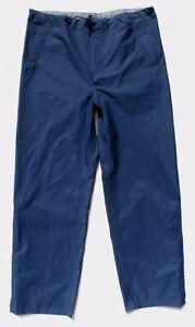 Genuine Issue Blue RAF Goretex Trousers MVP, Waterproof Over Trousers - NEW