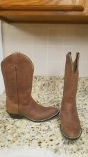 Youth justin boots size 4.5