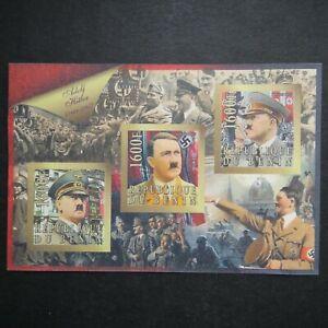 Germany Nazi 1889 - 1945 MINT Sheet Adolf Hitler Swastika WWII Third Reich REPUB