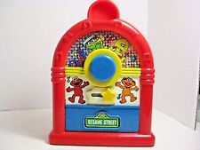 SESAME STREET MUSICAL JUKEBOX TYCO PLAYTIME 1994 VINTAGE PLAYS LULLABY