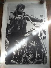 Vintage 1970's printed Easy Rider Peter Fonda poster