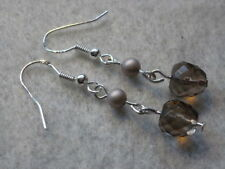 Agate Shell Drop/Dangle Costume Earrings
