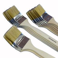 12 x Heizkörperpinsel Profi-Qualität Ecken-Pinsel | 50 - 60 - 70 mm | hell