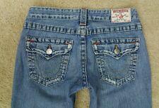 True Religion Joey Jeans 27 X 33.5 EUC Pre-owned Medium Wash Flare
