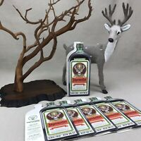 Jagermeister Vintage Advertising Paper Tabletop Display Sleeves Props