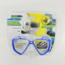NEW Body Glove Passage Adult Dive Mask Open Water Series Large Blue Swim Snorkel