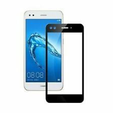 3D FULL COVER BLACK Tempered Glass Screen Protector for HUAWEI Y6 2017