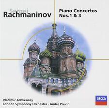Rachmaninov: Concerti Per Pianoforte N. 1 & 3 - Vladimir Ashkenazy, Previn - CD