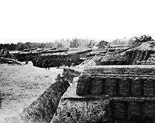 New 8x10 Civil War Photo: Battery Near the Farnhold House in Yorktown, Virginia