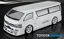 1:10 Lexan Body Toyota Hiace Karosserie (clear+decals+ accessoirs)