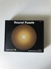Round Puzzle 1000 Pieces