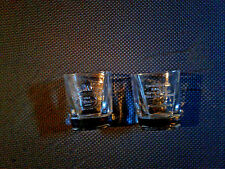 NEW NEVER  USED Jack Daniel's Old No 7 Cocktail Rocks Glasses Collectable Clear