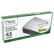 Mead No.10 Envelopes, Press-it Seal-it, 4-1/8 X 9-1/2, White, 45 Count. 75026