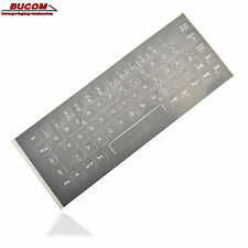 Deutsche German ADESIVI TASTIERA KEYBOARD STICKERS GRIGIO F. NOTEBOOK PC PORTATILE