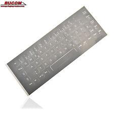 deutsche german Tastatur Aufkleber Keyboard Stickers Grau f. Notebook PC Laptop