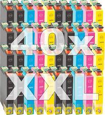 40x cartucho tinta compatible Non-Oem 16XL para Epson wf2510wf wf2520nf wf2530wf