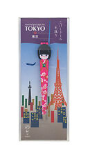 NEW Tweezers Japanese Kokeshi Dolls Flowers On Pink Tokyo Edition Manicure