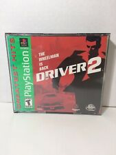 Driver 2  (Sony PlayStation 1, 2000) PS1 NO MANUAL